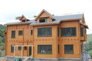 Lesena gradnja hiš
