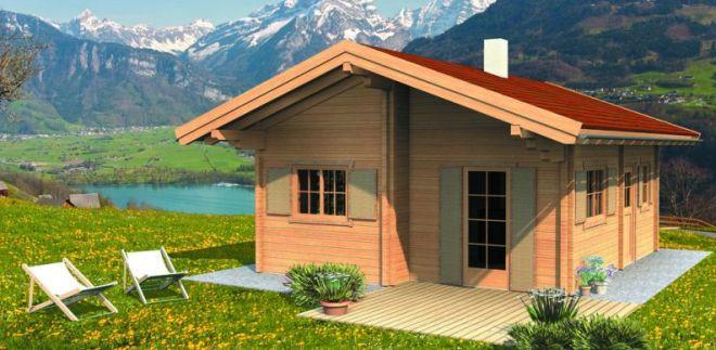 Nizkoenergijske lesene hiše LogHouse