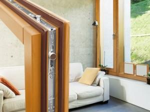 lesena okna rabljena