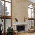 lesena okrogla okna
