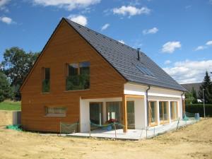 Gradnja lesenih hiš cena