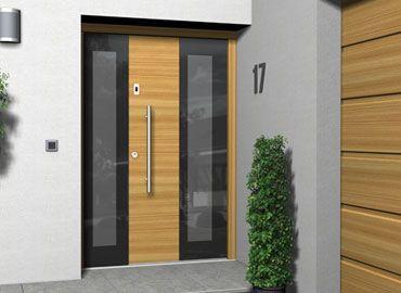 Vhodna ali stranska lesena vrata